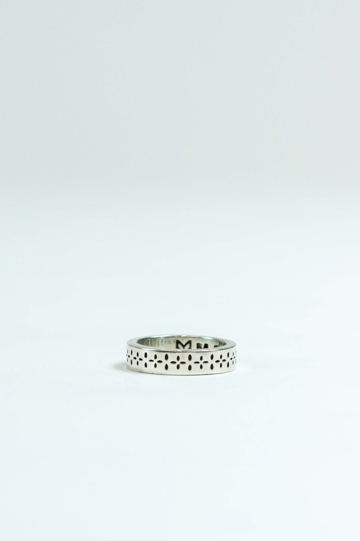 Bandana Ring in Silver 925