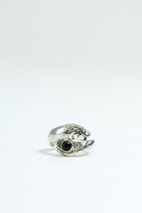 Big Cat Ring in Silver 925