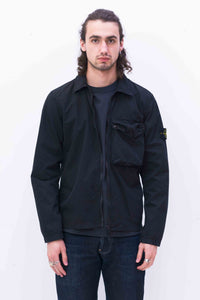 117WN Overshirt in Black