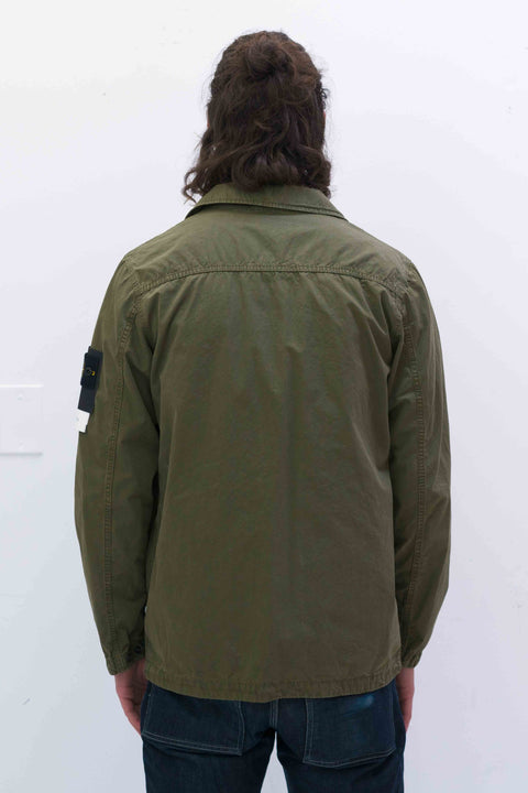 439WN Overshirt in Olive