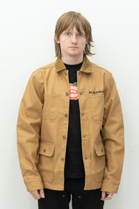 Spike Chore Jacket in Khaki