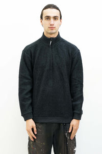 Alto Half Zip in True Black