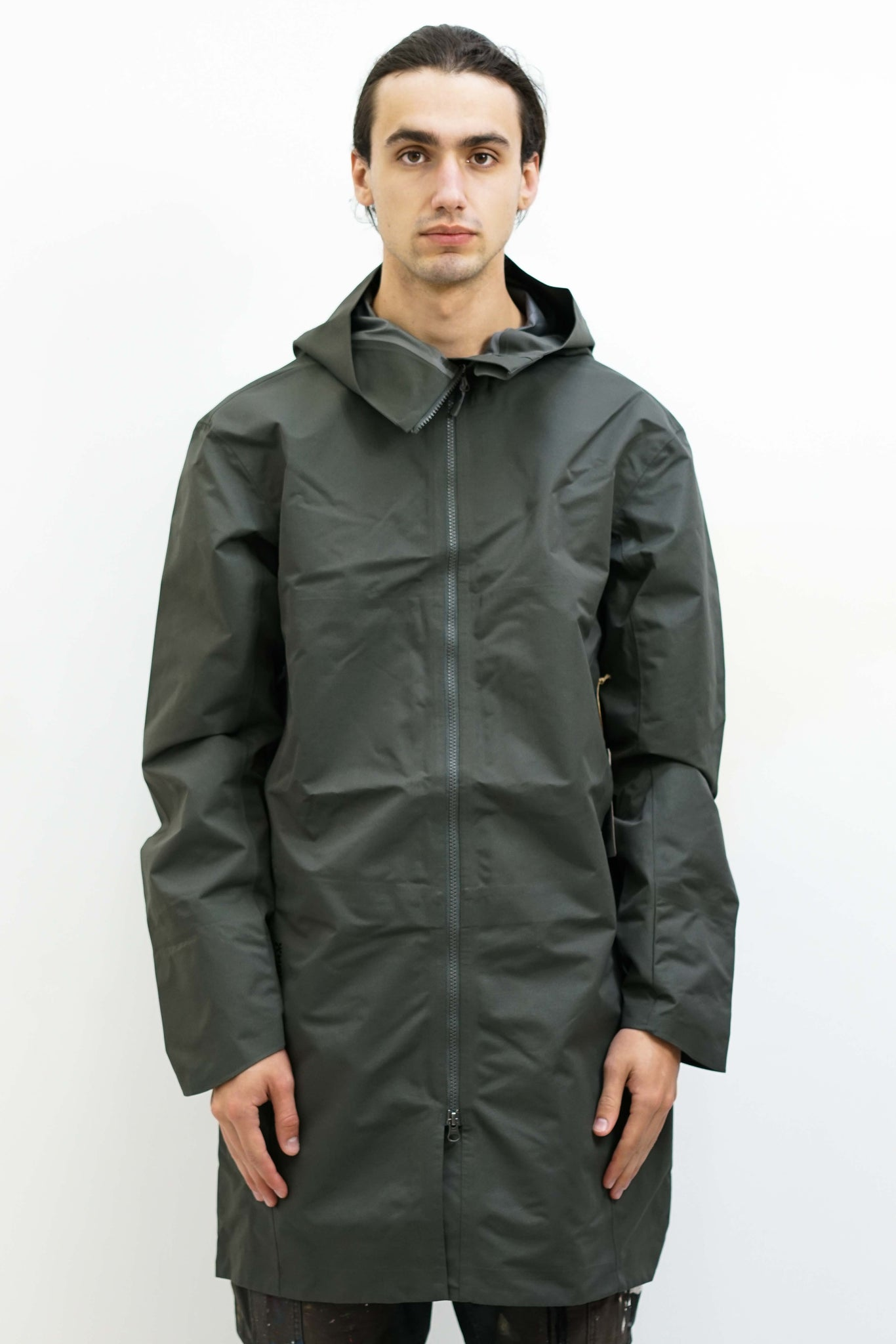 One Parka in Baremark Green