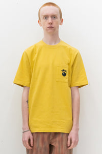 8 Ball Pocket Crew in Mustard