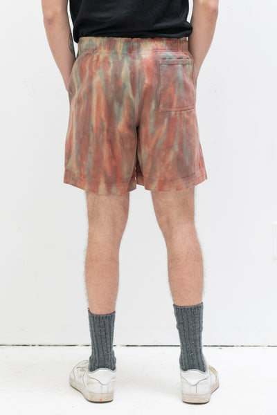 Dyed Easy Short in Rust
