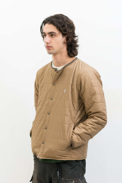 Padding Jacket in Camel