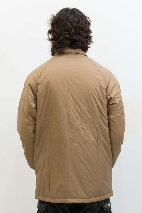 Padding Coaches Jacket in Camel