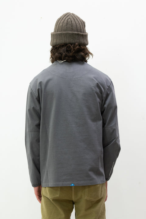 Overdyed L/S Tee in Black