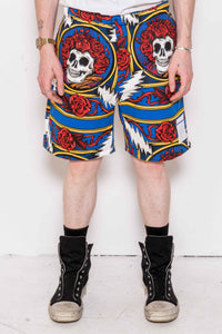The Grateful Dead Border Bandana Shorts