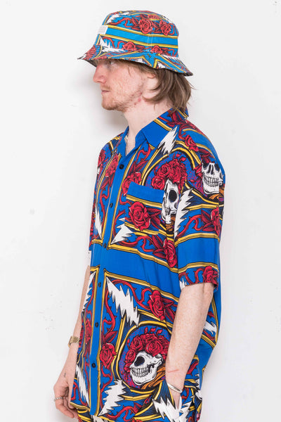 The Grateful Dead Border Bandana SS Button Up