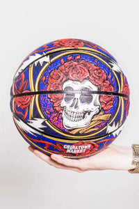The Grateful Dead Border Bandana Basketball