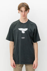 Exit Tee in Back to Black