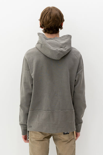 Seeing Lines Hoodie in Vintage Grey