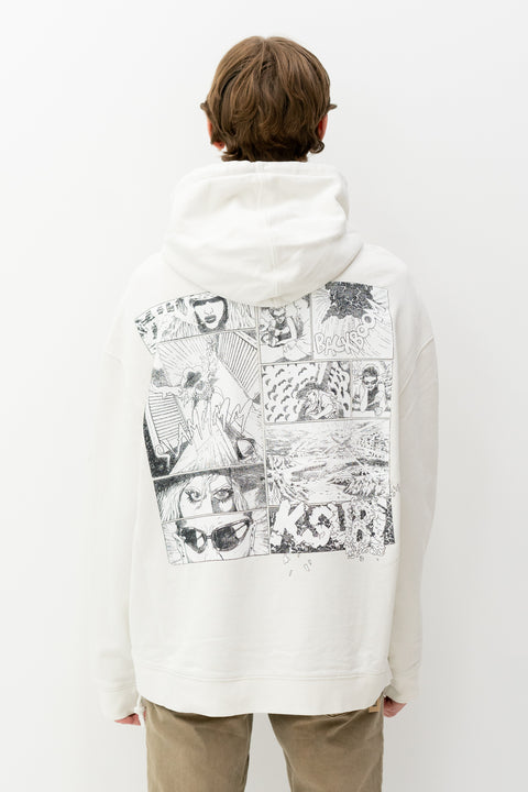 Ashes Hoodie in Bleached White