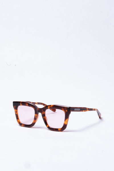 Cornell in Orange Tortoise and Rose