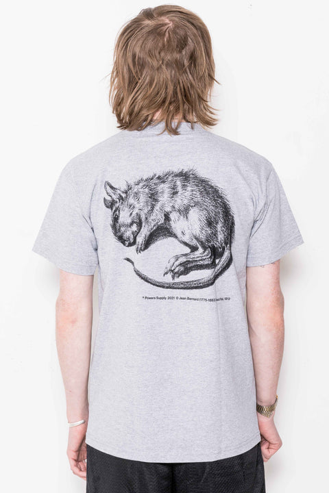 Vermin SS Tee in Heather Grey
