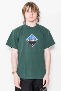Corrosion SS Tee in Dark Green