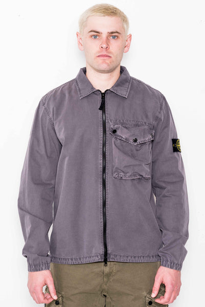 T.CO 'OLD' Over Shirt 117WN in Blue Grey