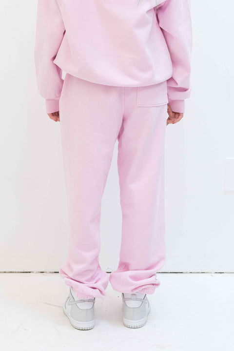 Rose Sweatpant in Petal Pink