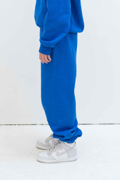 Rose Sweatpant in Persian Blue