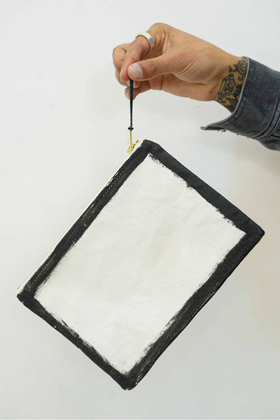 Painted Seam Pouch