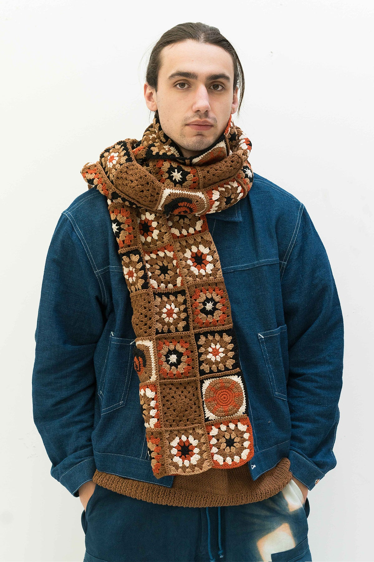 Piece Scarf in Marmalade