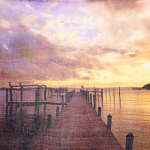 Sunset Dock Abaco Scarf - Sidney Byron