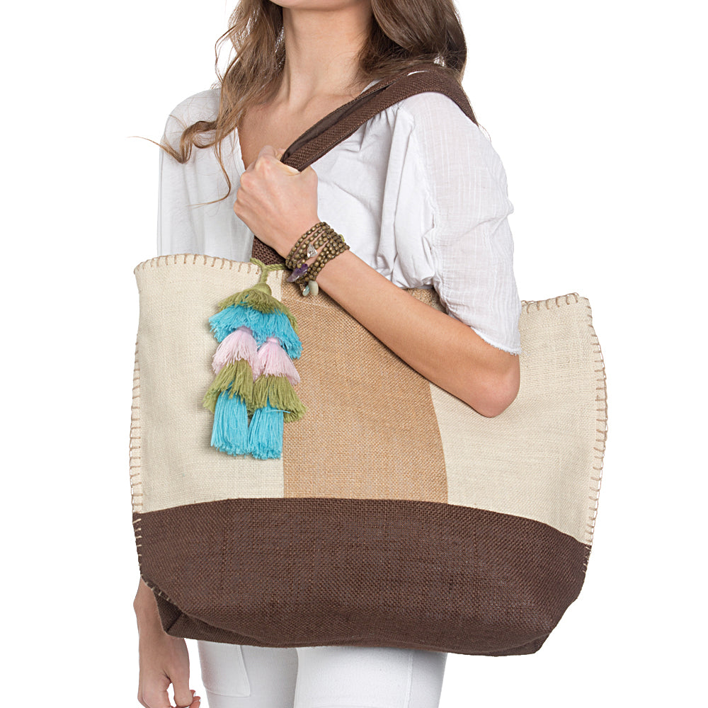 Natural Shades Beach Tote - Sidney Byron