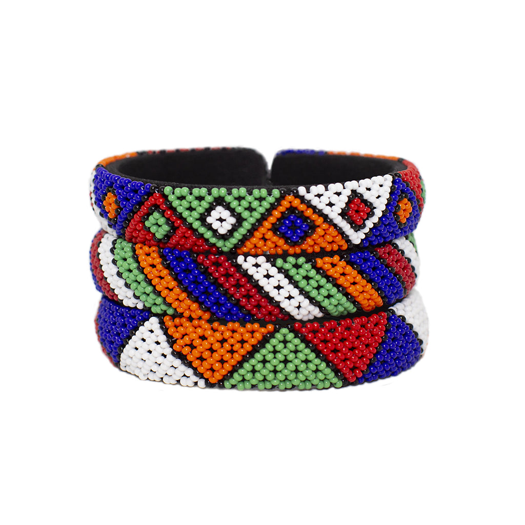 Tribal Bangle Set - Sidney Byron
