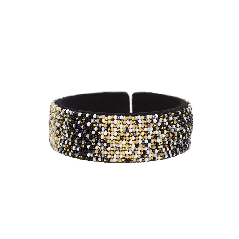 Starlight Beaded Ombre Cuff - Sidney Byron