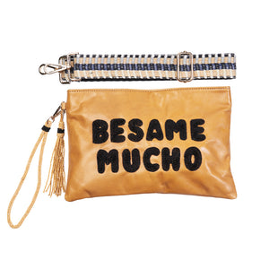 """Besame Mucho"" Ashley Crossbody Bag - Sidney Byron"