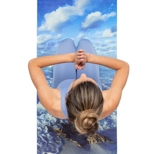"""Nomad Yoga Mat in """"Just Breathe"""" (3MM)"""