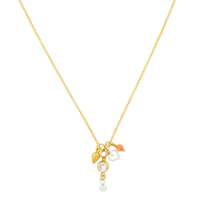 Petite Grand - Diamond Chain Necklace - Gold