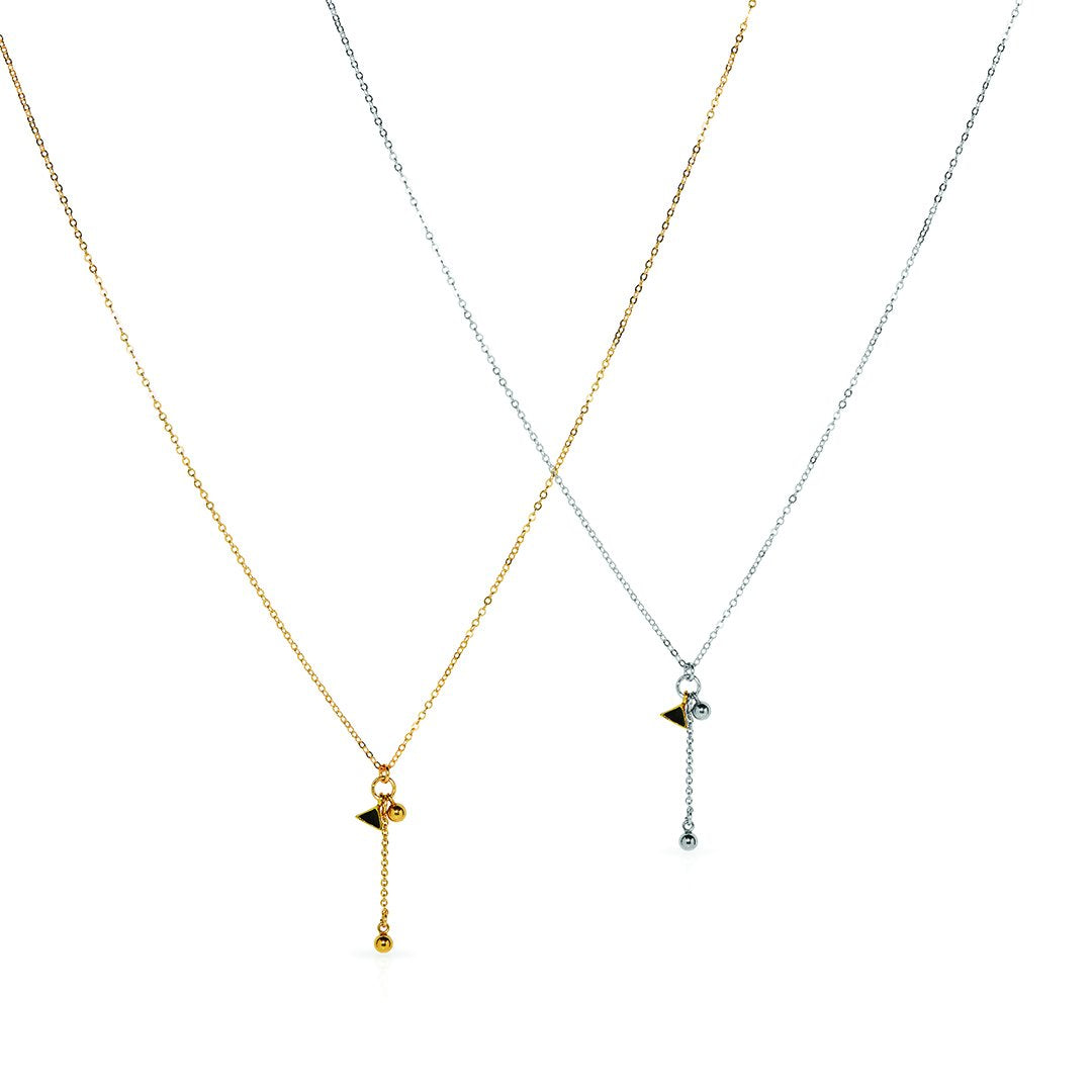Petite Grand - Arid Necklace - Available in Silver + Gold