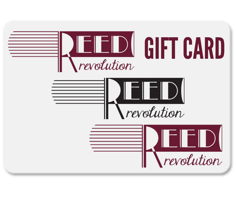 Reed Revolution Gift card