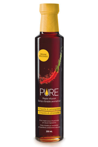 PURE Infused Maple Syrup - Chipotle & Lemongrass