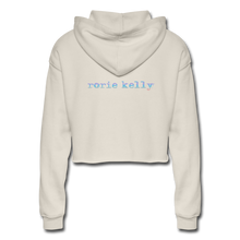 Load image into Gallery viewer, Women's Cropped Hoodie - dust