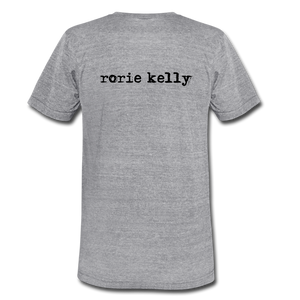 Rising, Rising, Rising Bird Lyric Tee (Click to see all colors!) - heather gray
