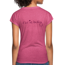 Load image into Gallery viewer, Miss Me With Your Misogyny V-Neck Women's Tee - Burgundy Lettering - heather raspberry