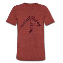 Load image into Gallery viewer, Rising Arrow T-Shirt (Click to see all colors!) - heather cranberry