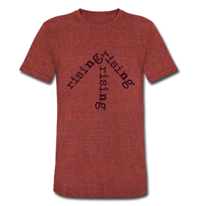 Rising Arrow T-Shirt (Click to see all colors!) - heather cranberry