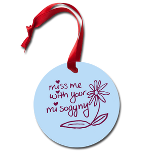 Holiday Ornament - white