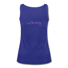 Load image into Gallery viewer, Miss Me With Your Misogyny Women's Fitted Tank (click to see all colors!) - royal blue