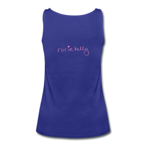 Miss Me With Your Misogyny Women's Fitted Tank (click to see all colors!) - royal blue