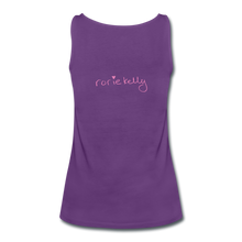 Load image into Gallery viewer, Miss Me With Your Misogyny Women's Fitted Tank (click to see all colors!) - purple