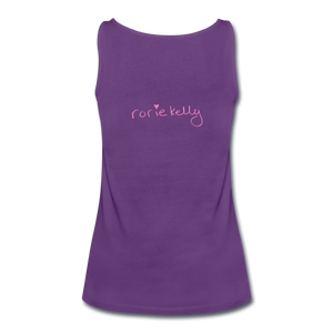 Miss Me With Your Misogyny Women's Fitted Tank (click to see all colors!) - purple