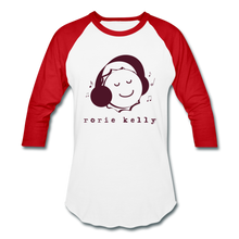 Load image into Gallery viewer, Bottlecap Baseball Tee (Click to see all colors!) - white/red