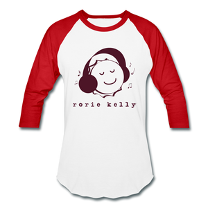 Bottlecap Baseball Tee (Click to see all colors!) - white/red