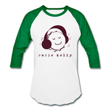 Load image into Gallery viewer, Bottlecap Baseball Tee (Click to see all colors!) - white/kelly green