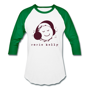 Bottlecap Baseball Tee (Click to see all colors!) - white/kelly green